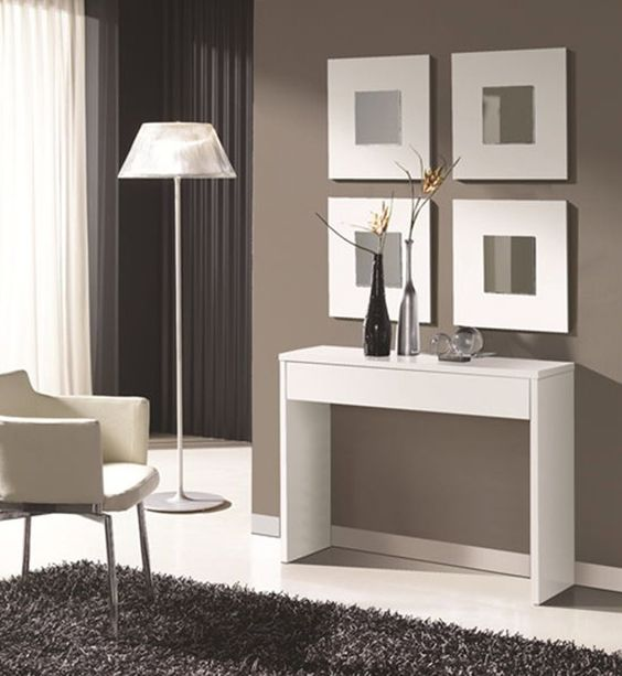 Mueble Blanco Moderno