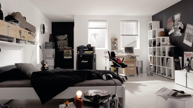 Boy Teen Room Negro