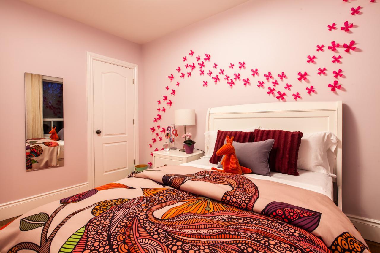Girl Bedroom Flowers