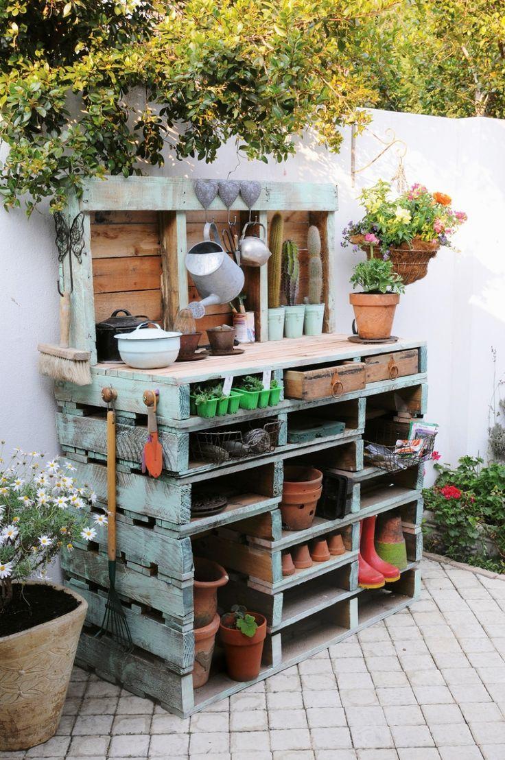 Mesas de Utensilios de Jardinería