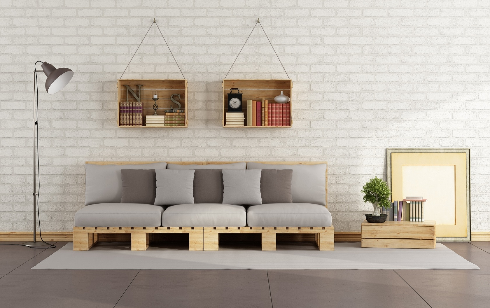 Living room de pallets