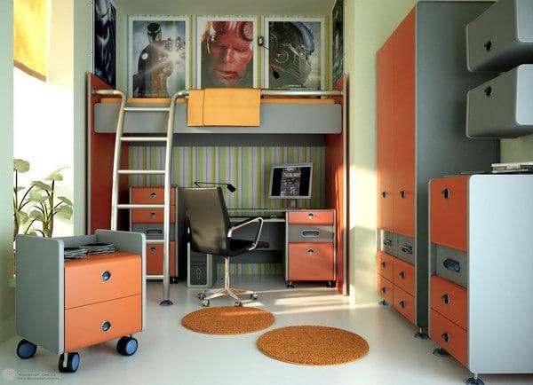 Teen Room Boy con Escritorio