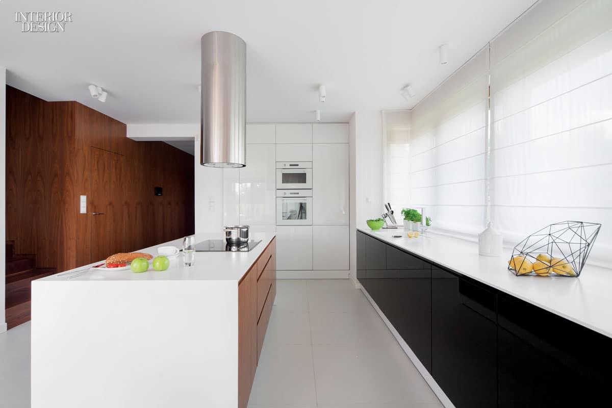 cocina minimalista grande