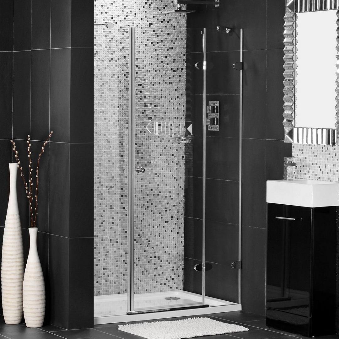 ducha con puertas