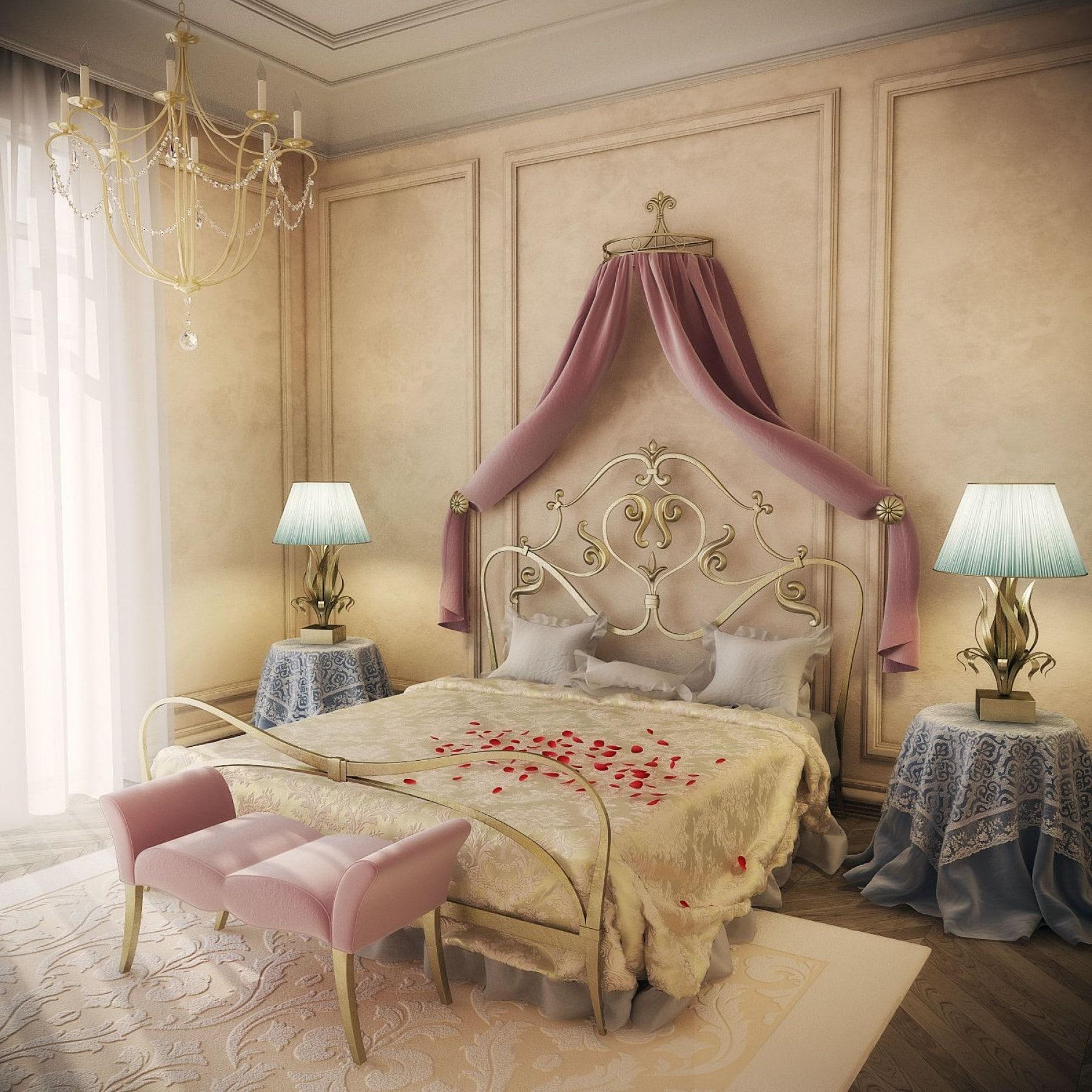 petalos y cortinas