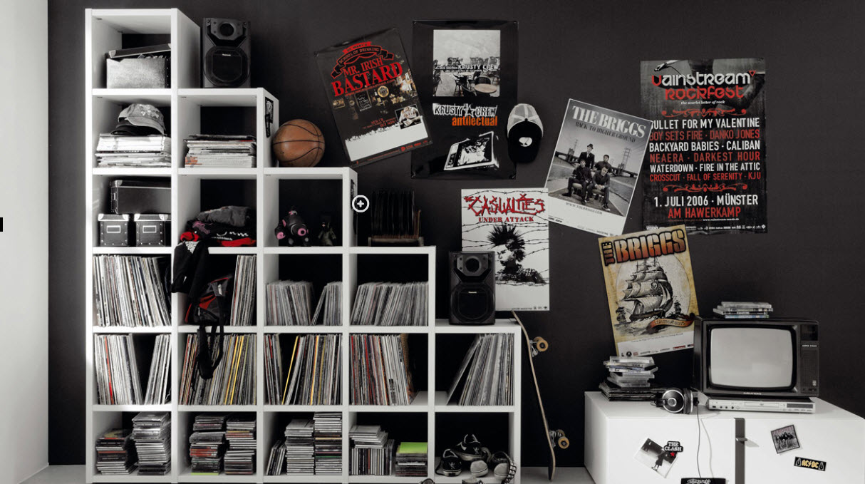 teen boy negro y revistas