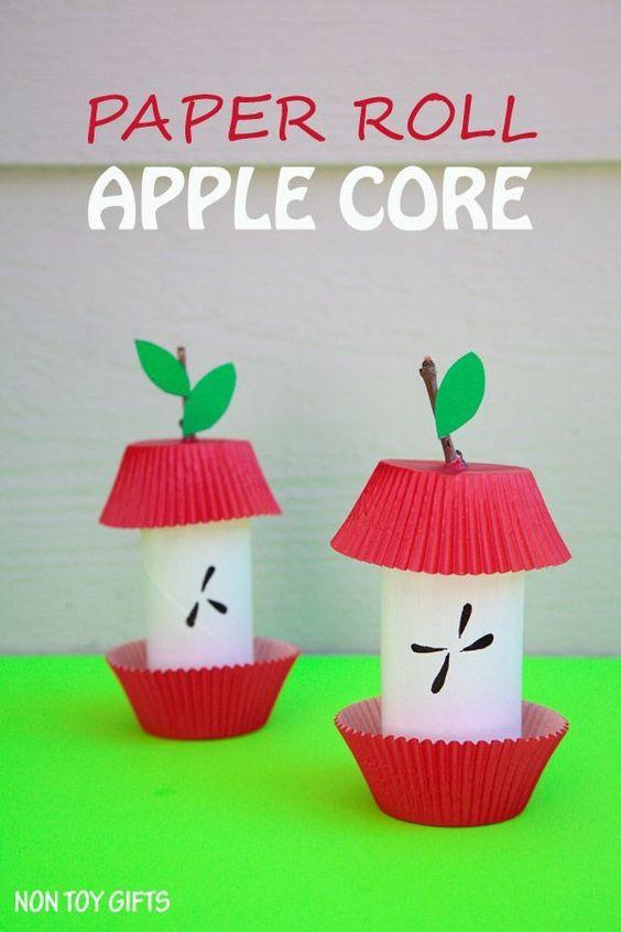 corazon de manzana