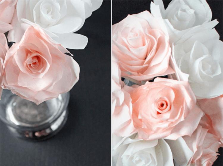 Rosas en Tonos Pastel