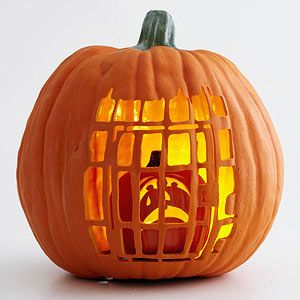 02 calabaza de halloween tallada