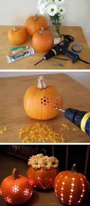 05 calabazas de halloween perforadas