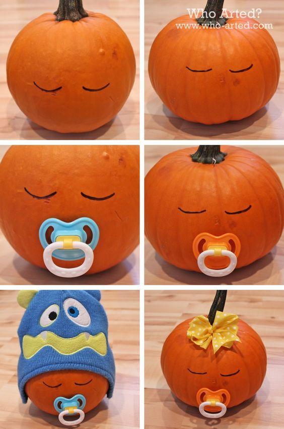 20 calabaza de halloween bebé