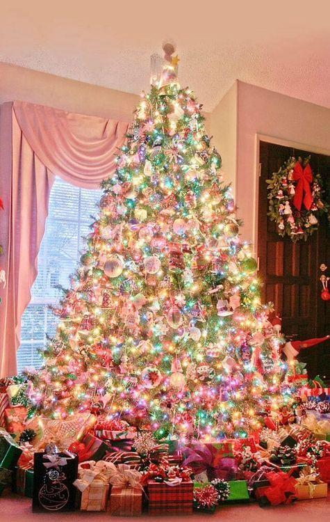 22 arbol de navidad MULTICOLOR Y MUCHA LUZ