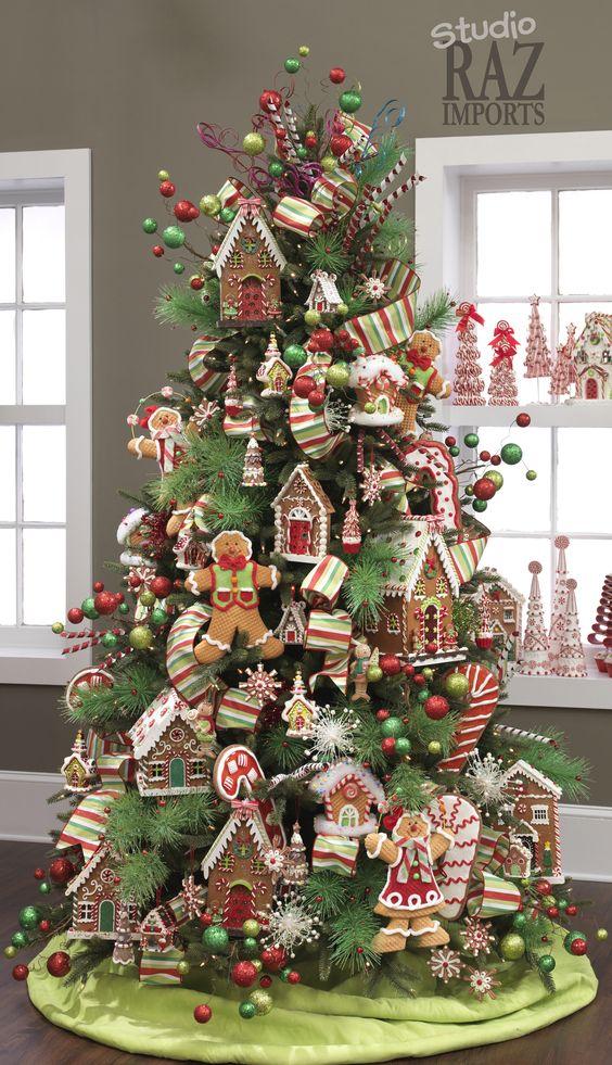 25 Arbol de navidad dulce