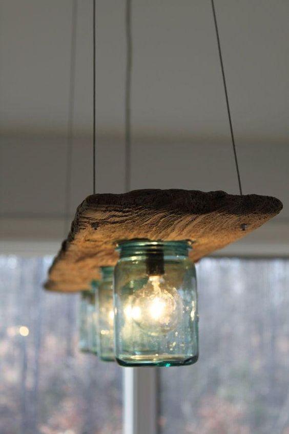 27 lámparas rústicas