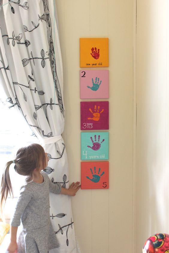 31 DIY para el dormitorio de los niños