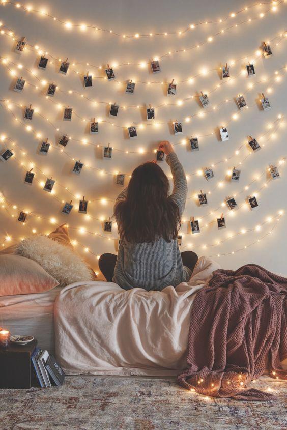 32 luces y fotografías