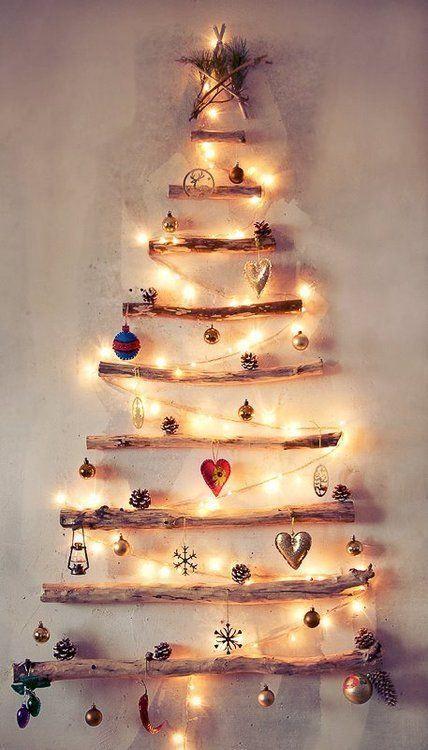 37 arbol de navidad con troncos