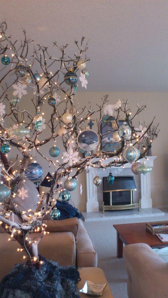38 arbol de navidad con ramas