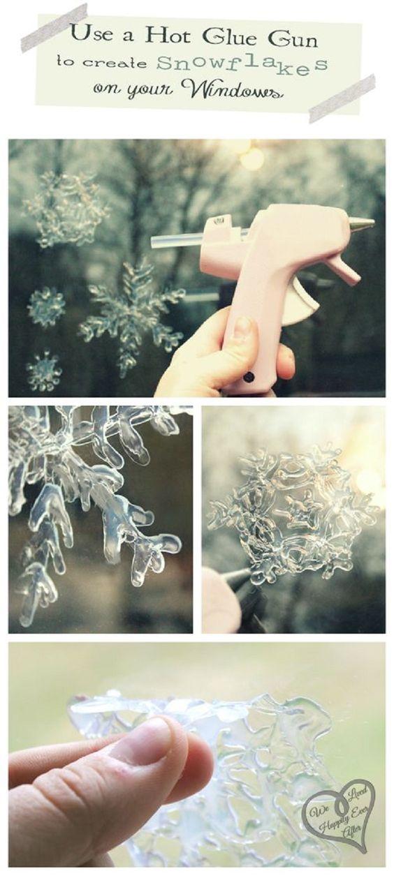 20 copos de nieve silicón