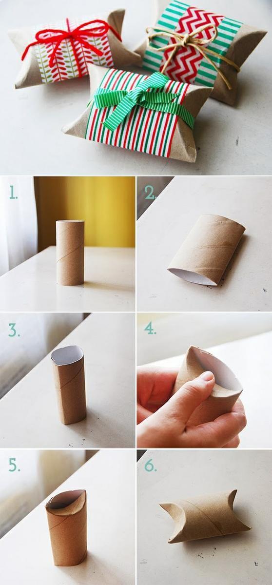 28 reciclando tubos de cartón