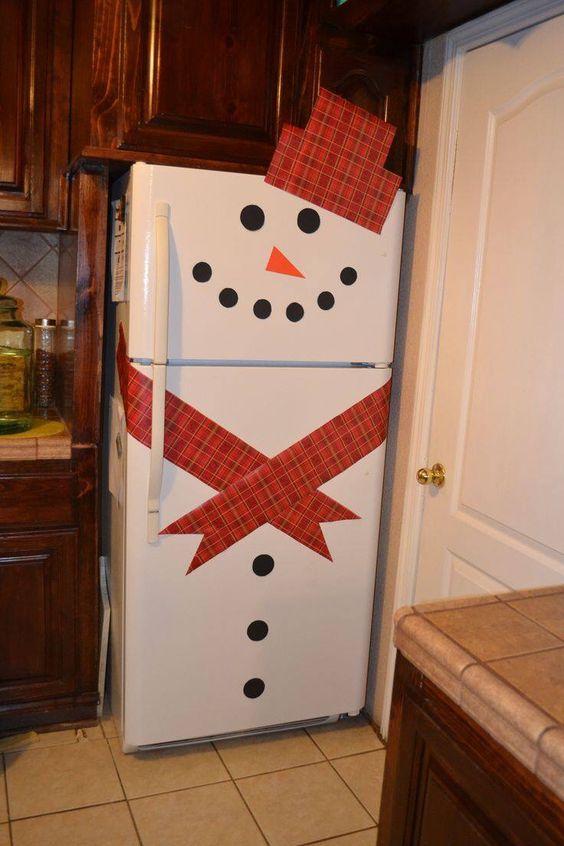 50 refrigerador de navidad
