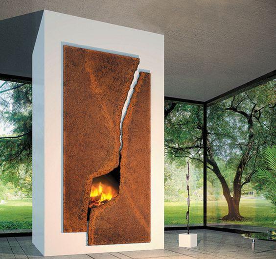 23 chimenea moderna y rústica 2