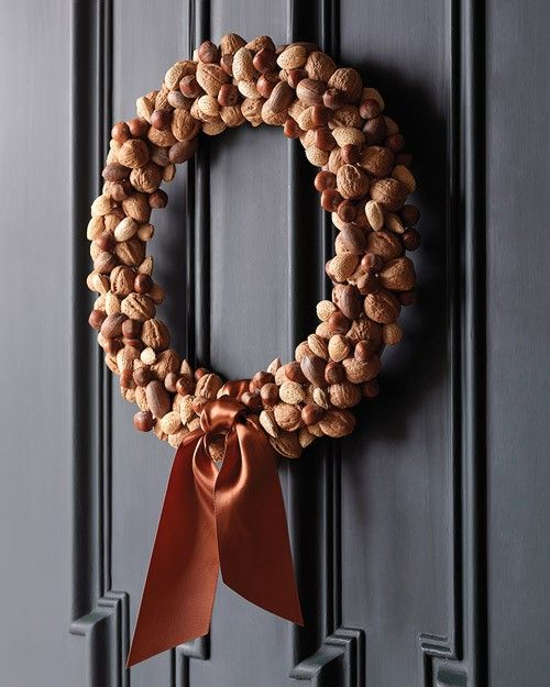 08 corona de navidad con frutos secos