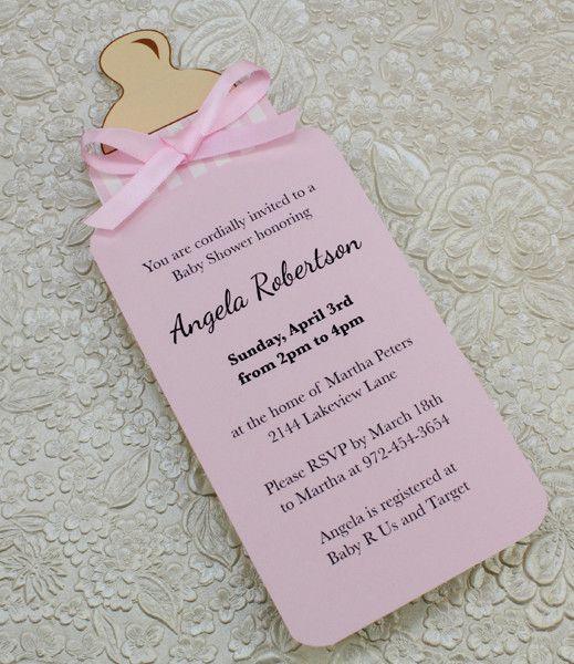 06 INVITACIONES BABY SHOWER SENCILLAS