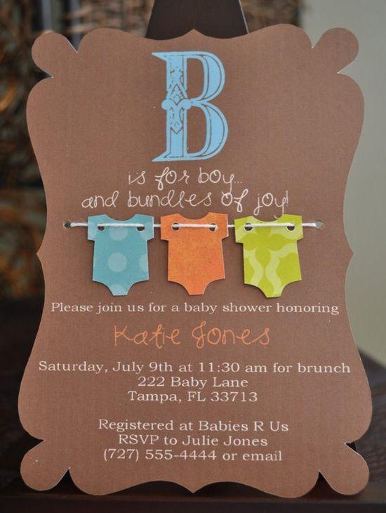 09 INVITACIONES BABY SHOWER RUSTICAS