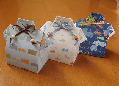 64 INVITACIONES BABY SHOWER ORIGAMI