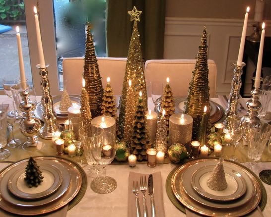 adornos de navidad elegantes