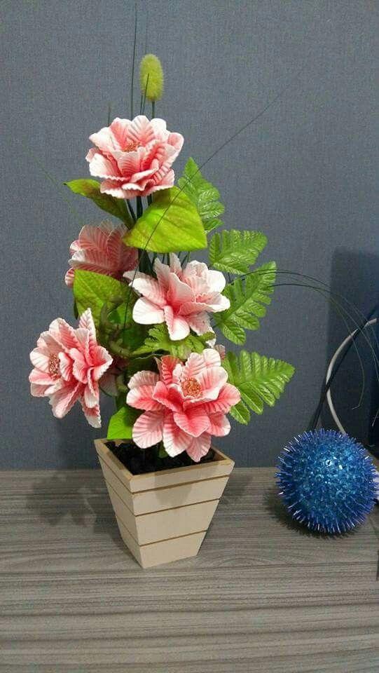 flores en una maceta