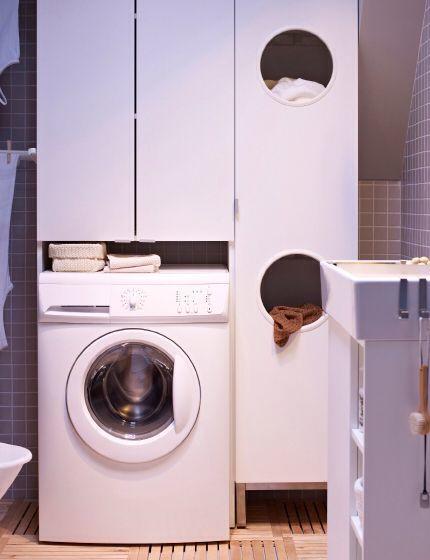 lavadora de pequeño tamaño