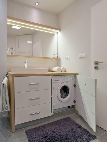 muy pequeña lavadora