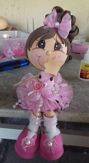 muñeca linda fofucha