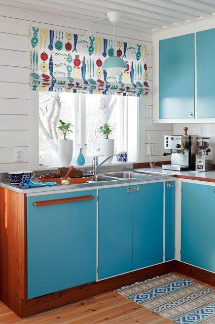 cortina de cocina