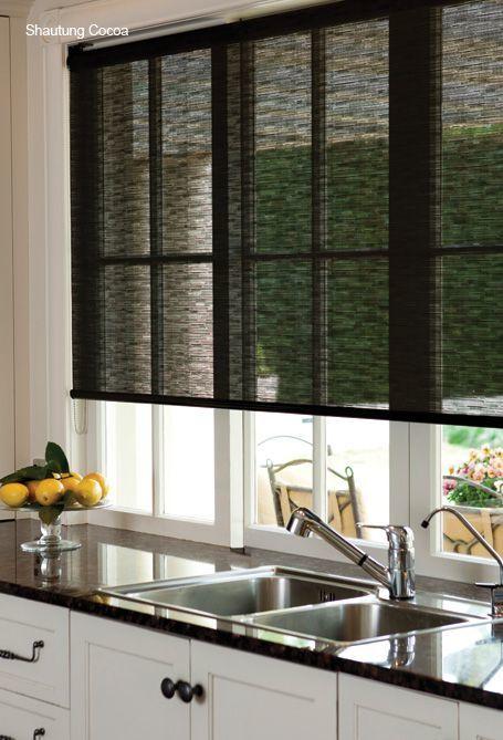 cortina de cocina minimalista