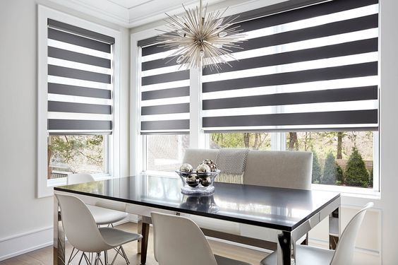 moderna cortina de cocina bella