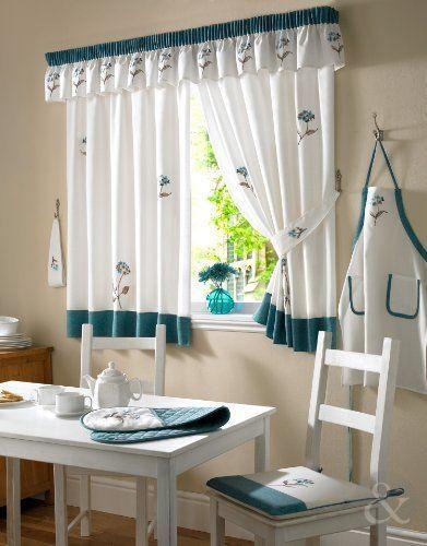 vintage cortina de cocina