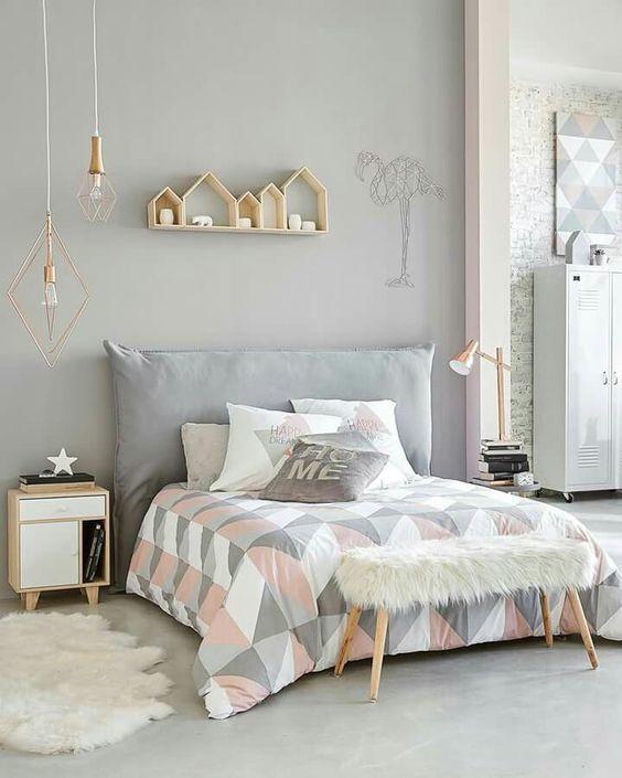 bello dormitorio vintage