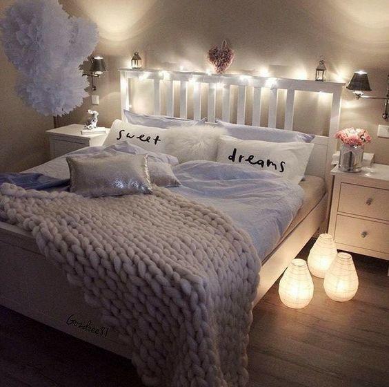 dormitorio bello vintage
