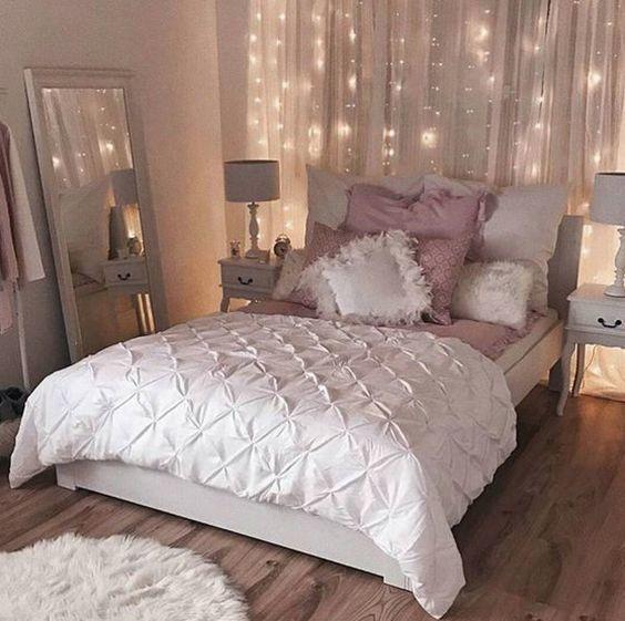 dormitorio vintage femenino