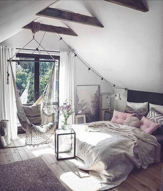 dormitorio vintage moderno