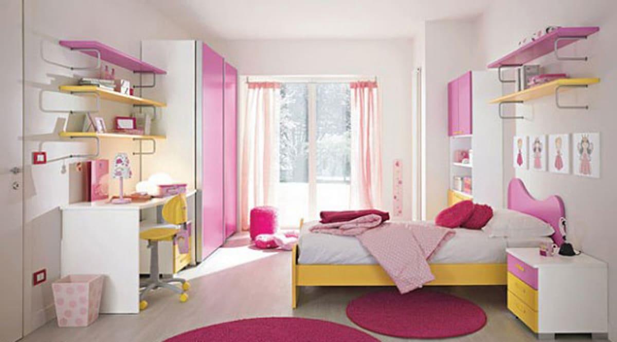 habitacion de niña moderna