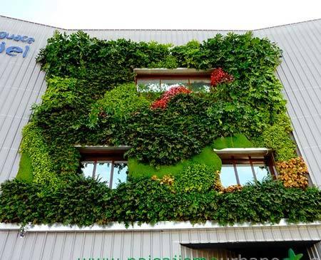jardin vertical bello