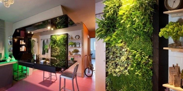 jardin vertical hermoso