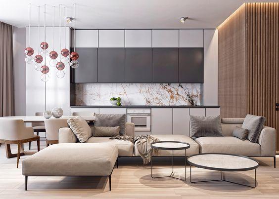 sala moderna mueble