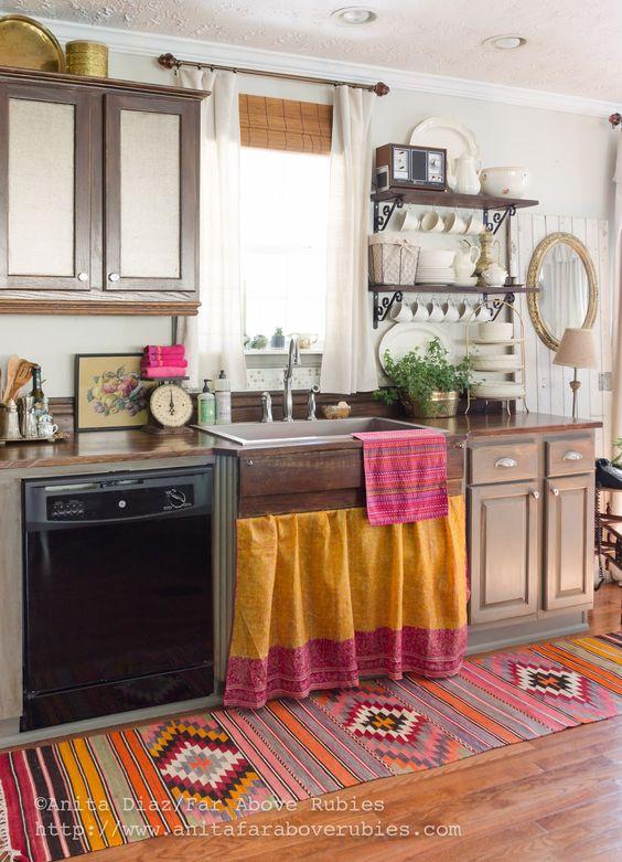 Cocinas originales te mostramos 33 para imitar en tu for Objetos para decorar cocinas