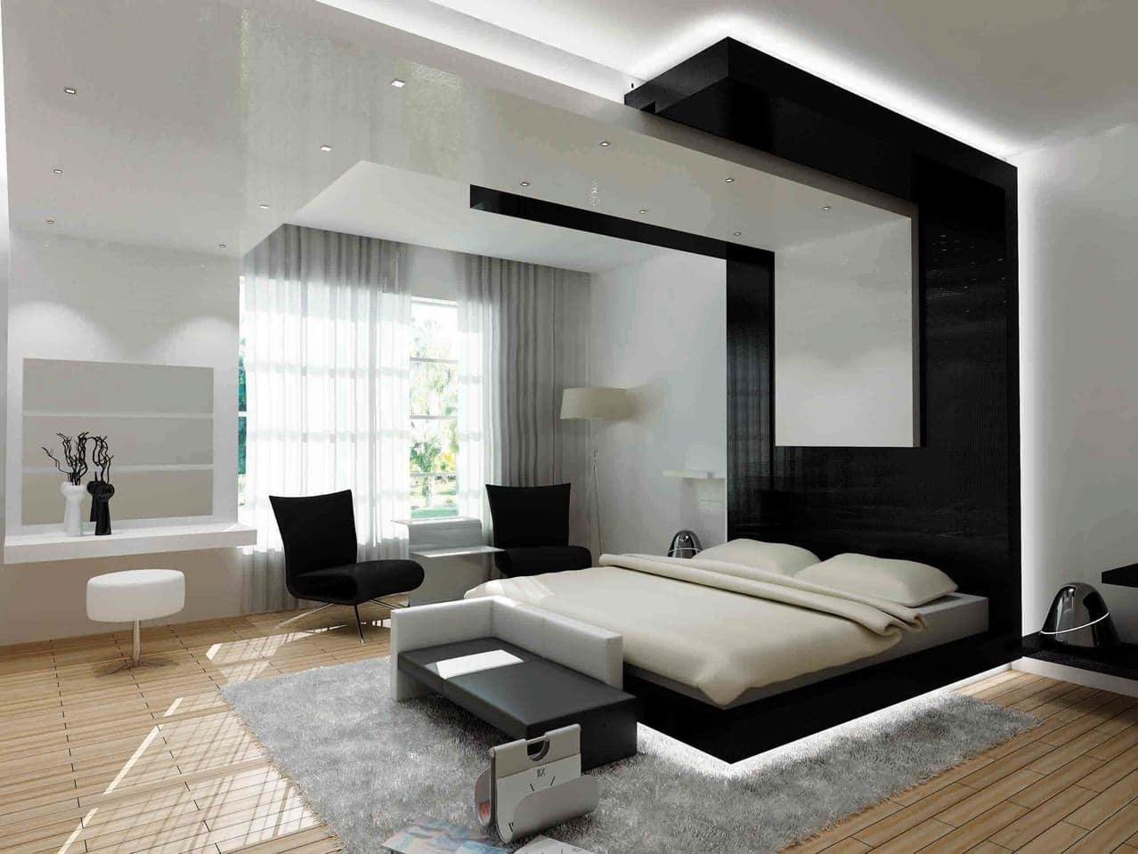 60 Dormitorios De Matrimonio Modernos Que Te Encantaran Estreno Casa - Como-decorar-una-habitacion-de-matrimonio-moderna