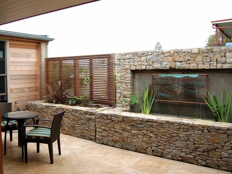 M s de 30 revestimientos de fachadas y paredes exteriores - Revestir paredes exteriores ...